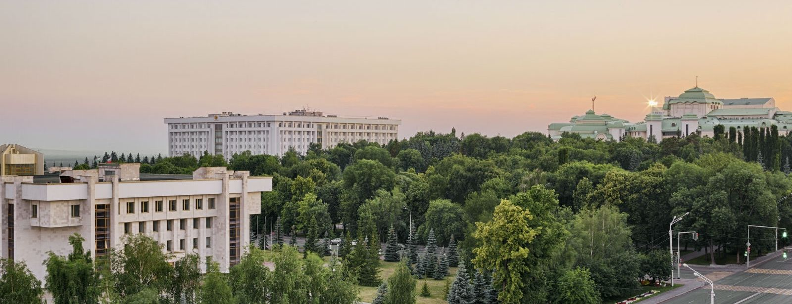 View from Executive Room - Sheraton Ufa Hotel