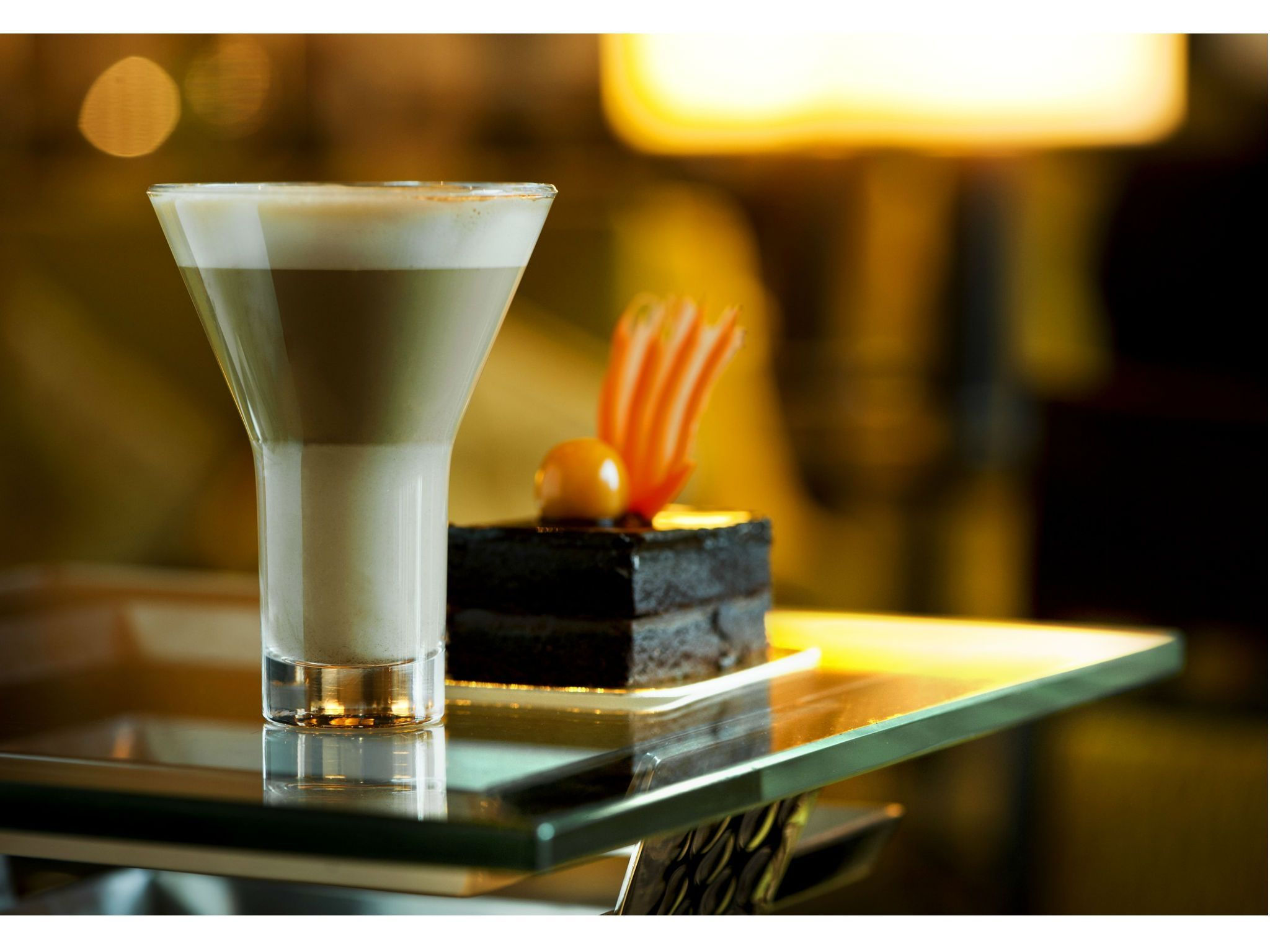 Sheraton Ufa Hotel - Coffee and dessert at Link Cafe